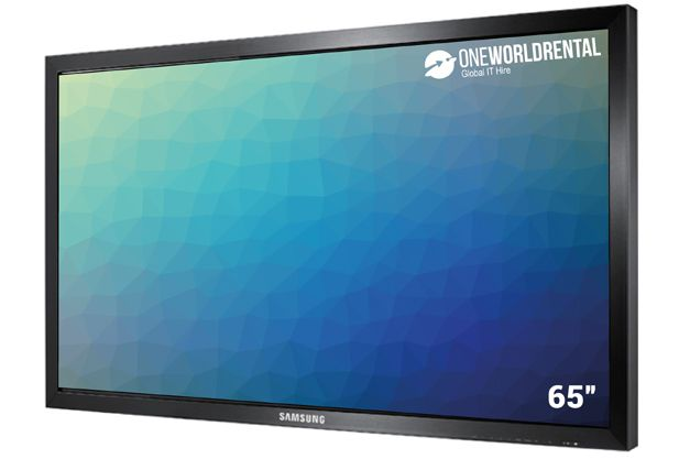"Hire touchscreen 65"")"