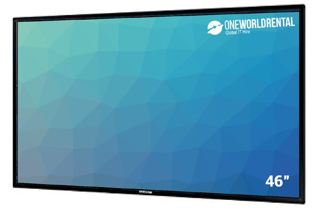 Touchscreen rental 46""